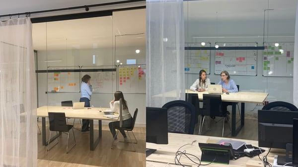 Salas de reunión oficina