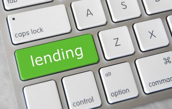 """Teclado con tecla """"Lending"""""""