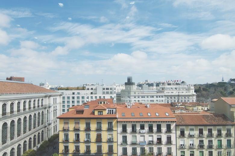 Barrio de edificios históricos